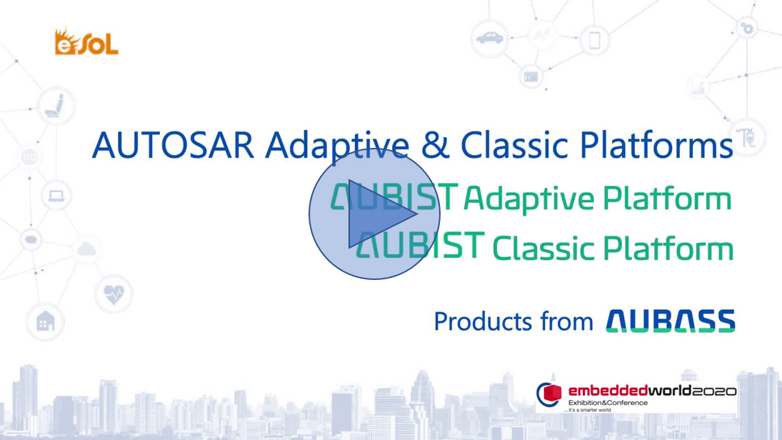 [Demo video] AUTOSAR Adaptive & Classic Platforms