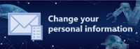 Change your personal information