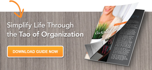Free Guide- Simplify Life Through the Tao of Organization