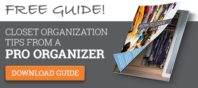 Free Guide! Closet Organization Tips From A Pro Organizer. Download Guide