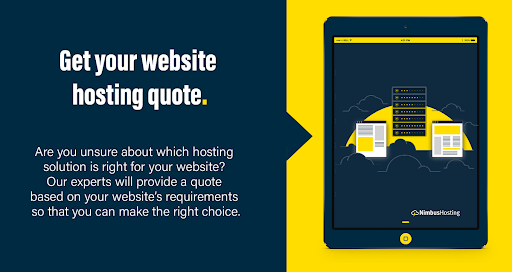 get your hosting quote
