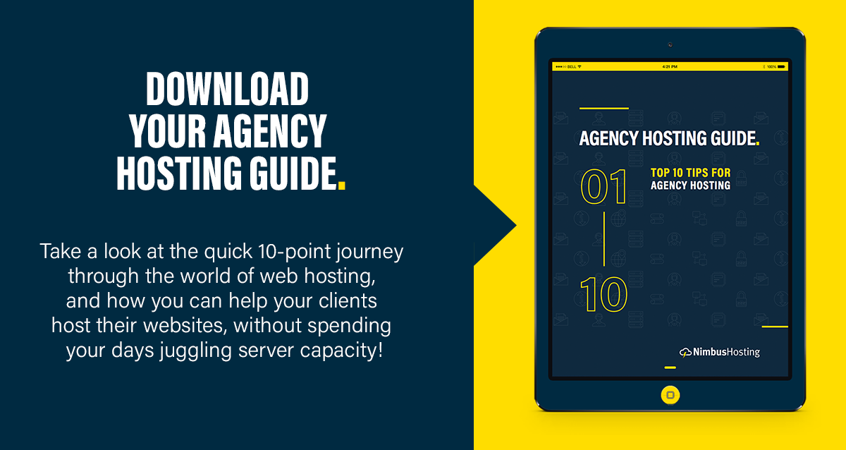 agency hosting guide cta