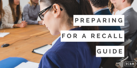 Get Our Free preparing for a recall guide