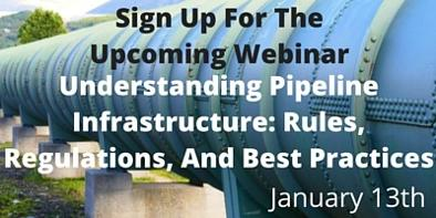 Sign up for the pipeline intrastructure webinar on Jan. 13th