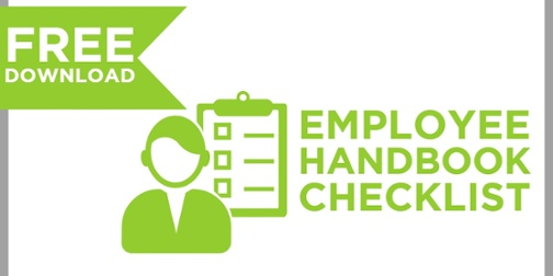 Click for Free Download Employee Handbook Checklist