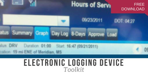 Click for Electronic Logging Device Toolkit Trucking Company