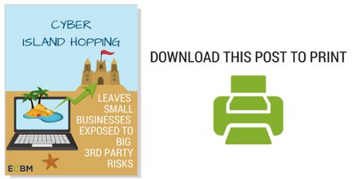 print friendly cyber island hopping risks