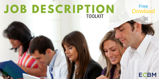 Click here for the job descriptions toolkit