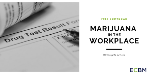 Free Download Marijuana in the Workplace HR Insights Article Trucking