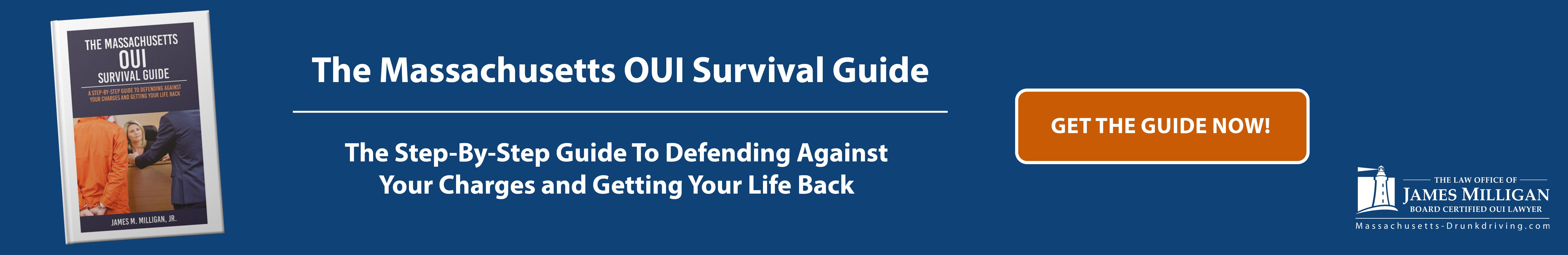 The Massachusetts OUI Survival Guide