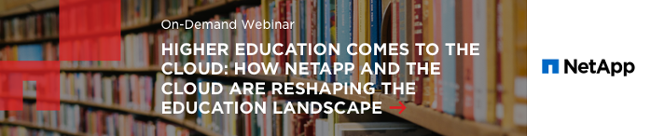 Higher education comes to the cloud webinar