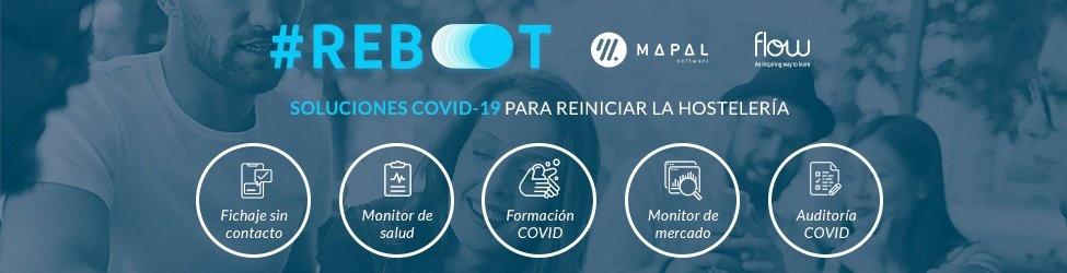 Conoce #Reboot: Soluciones COVID-19 para reiniciar la hostelería