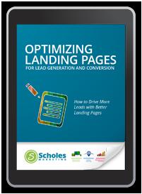Optimize landing pages for lead generation