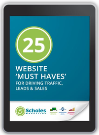 website must haves for driving traffic and leads