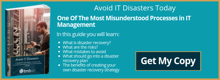 Download 'Avoid IT Disasters' - Our FREE PDF Guide To Disaster Recovery