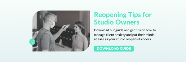 Reopening Tips for Studio Owners