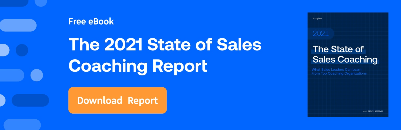 The 2021 State of Sales Coaching Report