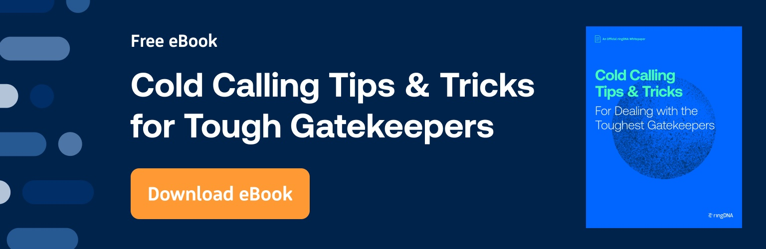 Colc Calling Tips and Tricks for Tough Gatekeepers