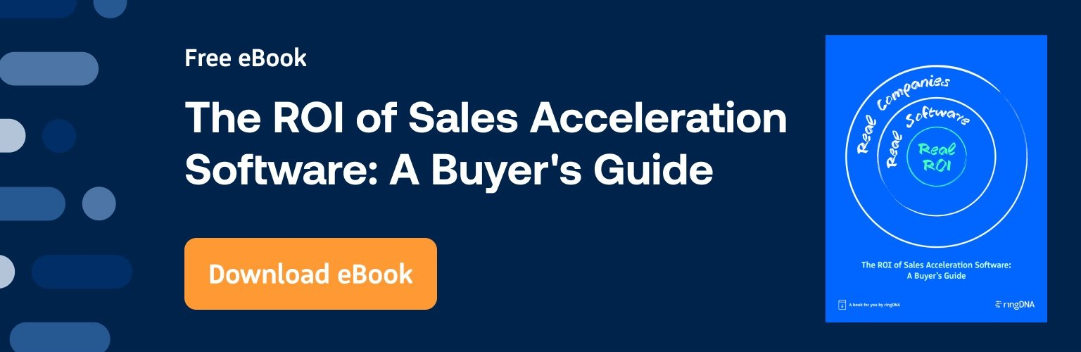The ROI of Sales Acceleration Software: A Buyer's Guide ebook download