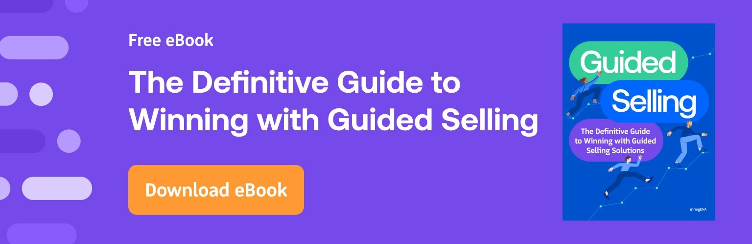 The Definitive Guide to Winning with Guided Selling ebook