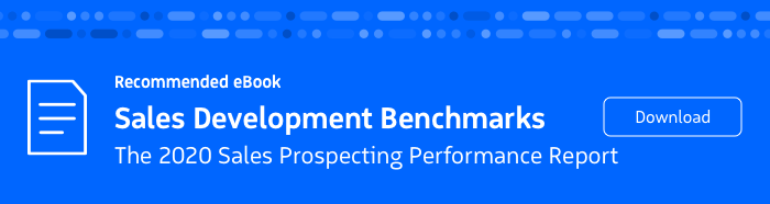 Recommended eBook: 2020 Sales Prospecting Performance Report