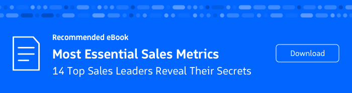 Recommended eBook: Most Essential Sales Metrics