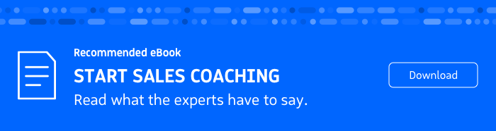 Recommended eBook: Start a Successful Sales Coaching Plan