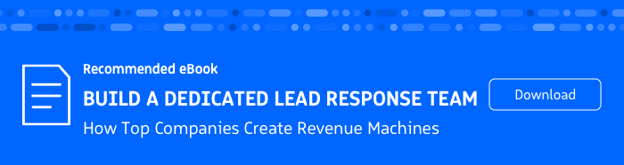 Recommended eBook: Build a Dedicated Lead Response Team