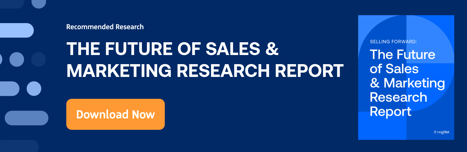 The Future of Sales & Marketing Research Report Download Now