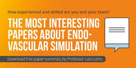 Mentice paper on the most interesting papers about endovascular simulation by Prof Lönn
