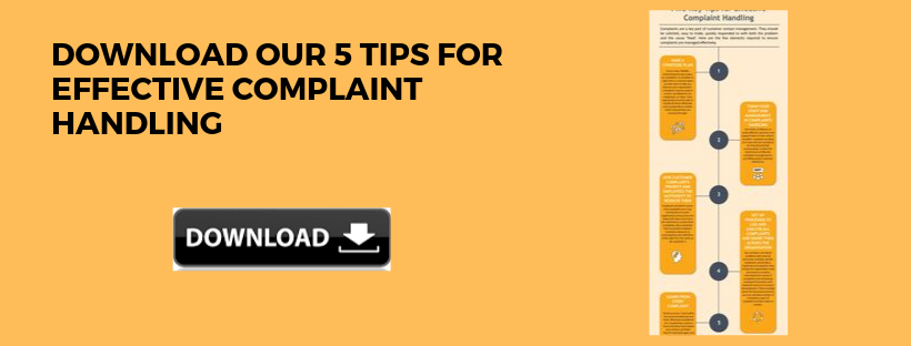 Download our Quick Guide to Complaint Handling