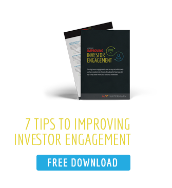 7 tips to better Investor Engagement