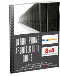 Comparing RingCentral and 8x8 Architectures