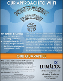 Matrix Networks WiFi Guarantee - Best Wireless Support