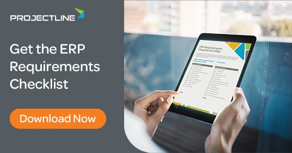Download the ERP Requirements Checklist for SMEs