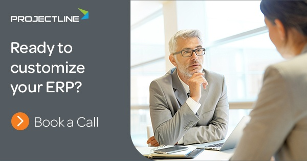Book an ERP Customization Consult with ProjectLine