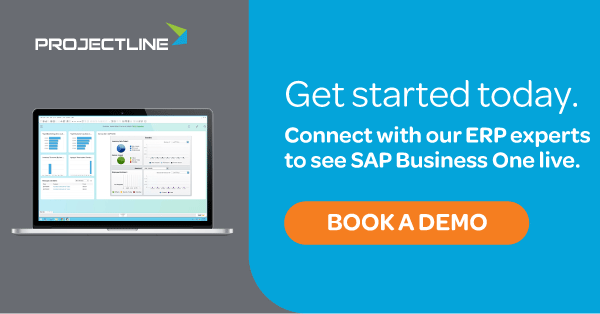 Book an SAP Business One demo with ProjectLine