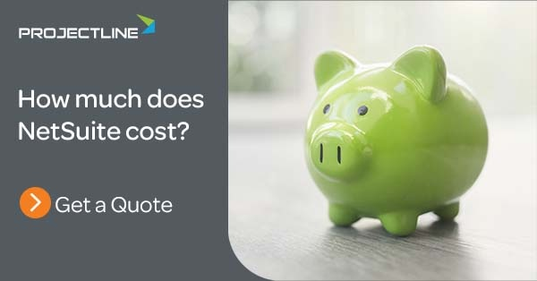 Request a NetSuite Price Estimate from ProjectLine