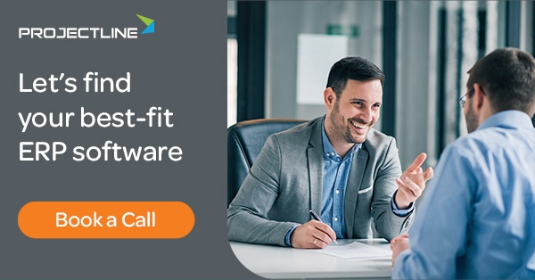 Book an ERP Consult with ProjectLine