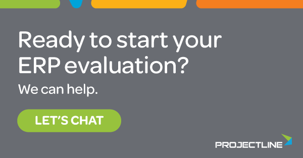 Contact ProjectLine for help with your ERP evaluation