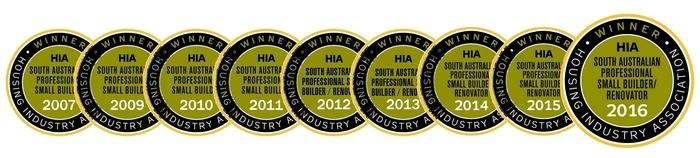 HIA South Australian Professional Small Builder Awards