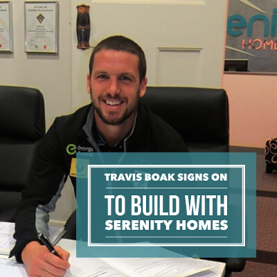 Serenity Homes Travis Boak Signs On