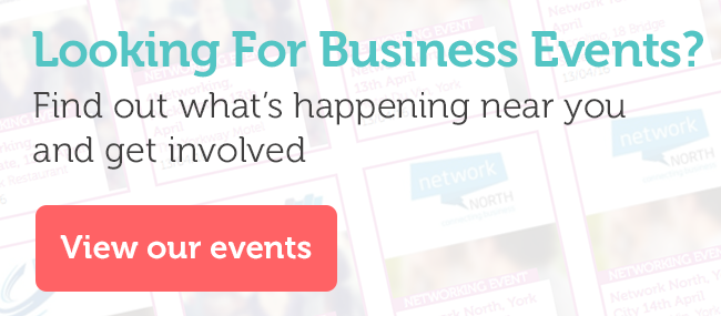 Find out about business events in Yorkshire and book onto something the suits your schedule