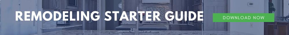 Remodeling Starter Guide