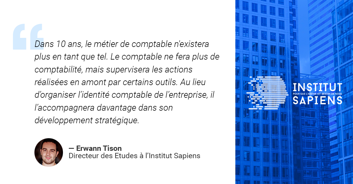 Automatisation de la fonction comptable : opportunité ou menace ? Interview Erwann Tison