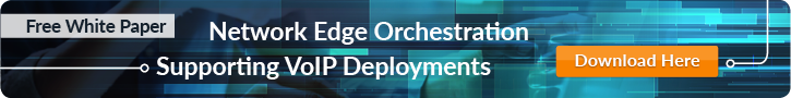 Network Edge Orchestration