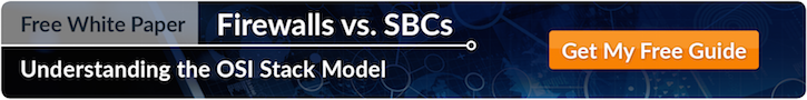 Firewalls vs. SBCs