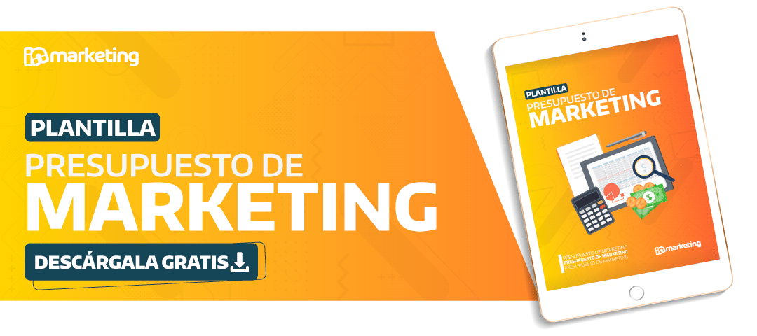 plantilla para calcular presupuesto de marketing