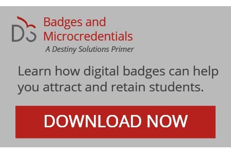 Learn how digital badges can help colleges and universities attract and retain students