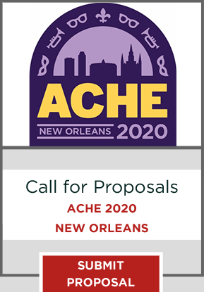 Register for the 81st Annual ACHE Conference